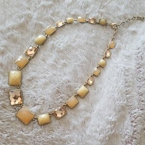 Vintage Gold Art Deco Necklace